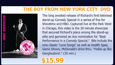 The Boy from New York City DVD
